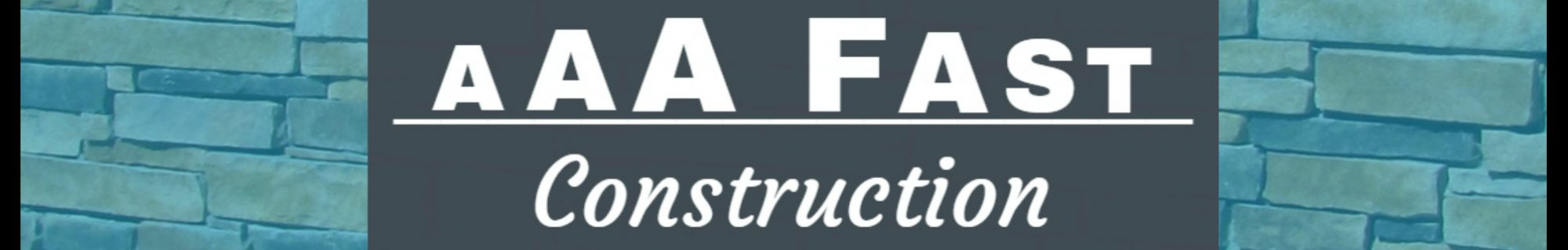 AAA Fast Construction Blog